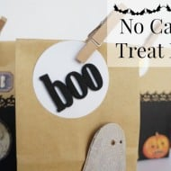 No Candy Halloween Treat Bags