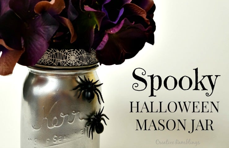Spooky Halloween Mason Jar