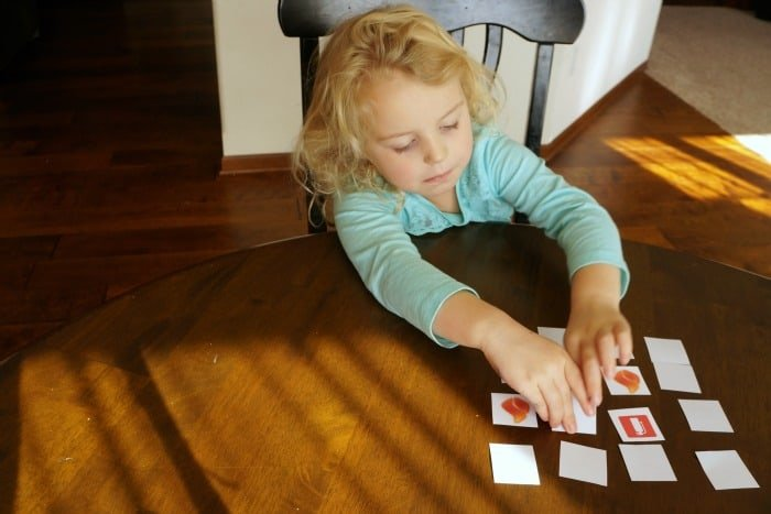 Fire safety matching game #ChangeYourClock #ad