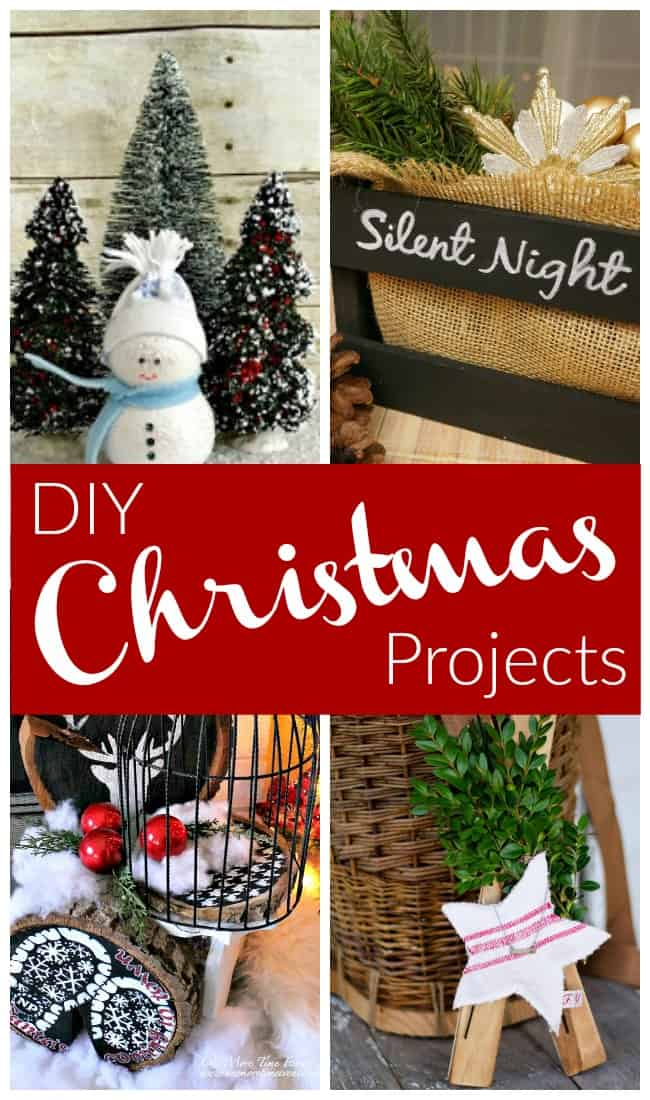 Christmas projects using wood and fabric you can DIY today