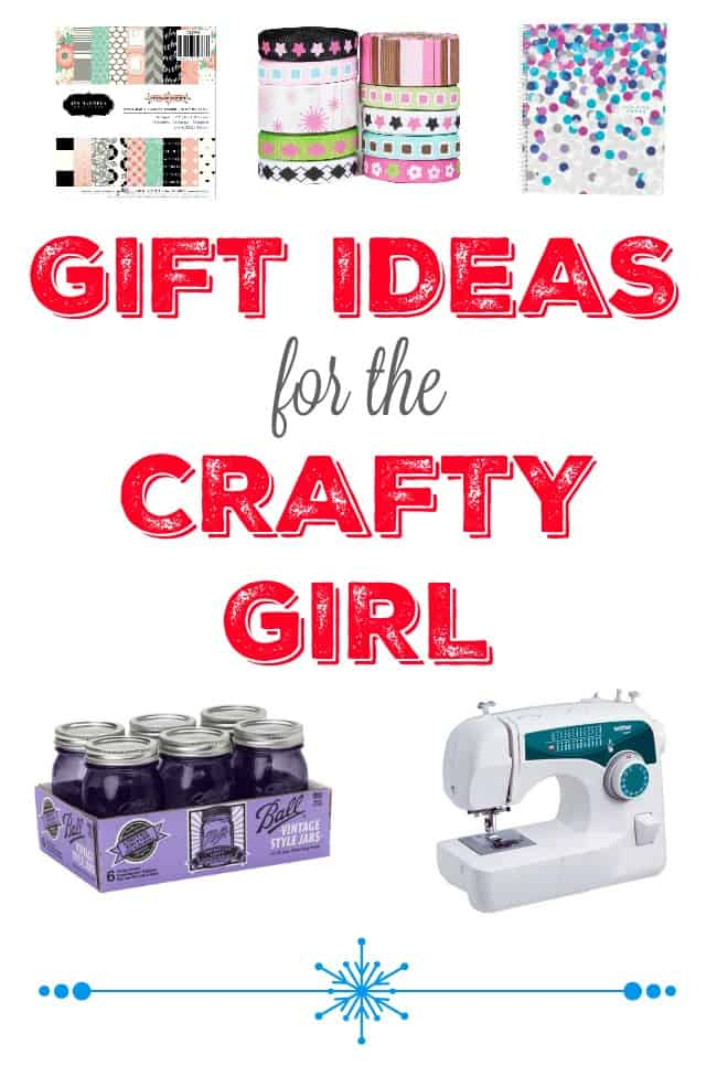 12 gift ideas for the craft girl. Craft gift ideas for everyone on your list. Bookmark these now!