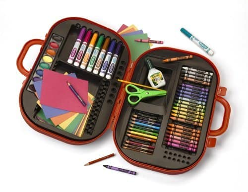 Crayola Ultimate Art Case with Easel, a great gift for a crafty kid