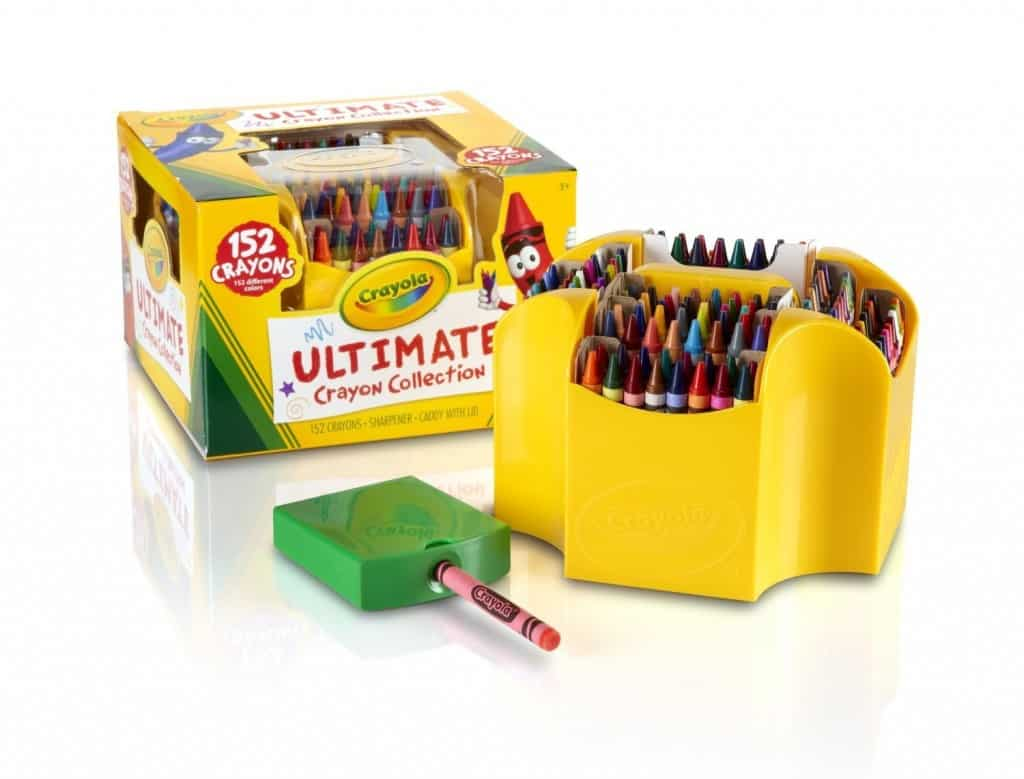 Crayola Ultimate Crayon Case, 152-Crayons, great gift for crafty kids