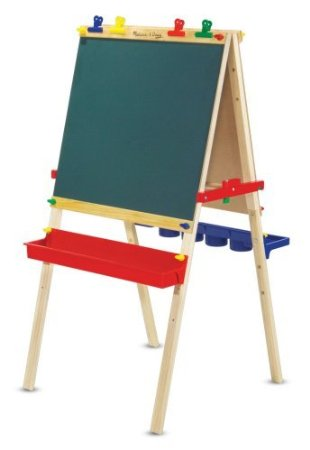 Melissa & Doug Deluxe Standing Easel, a great gift for crafty kids