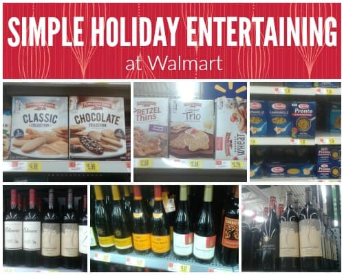 How to throw a fabulous holiday party with simple entertaining options from Walmart Msg 4 21+ #HolidayPairings #ad