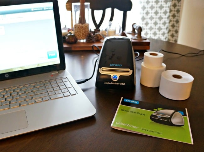 Make your small business stand out with DYMO Labelwriter #PutALabelOnIt AD