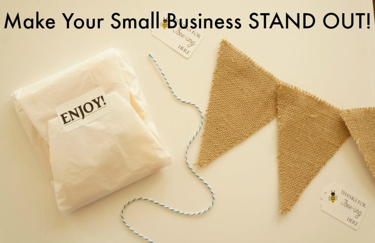 Make your small business stand out #PutALabelOnIt AD