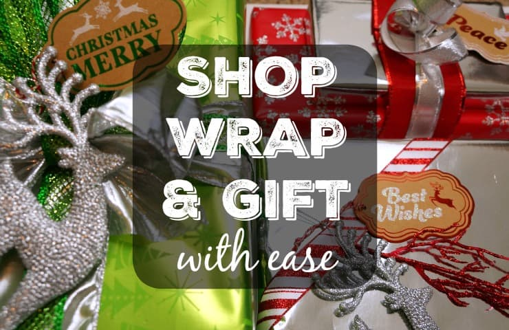 How to Shop Wrap and Gift With Ease This Holiday