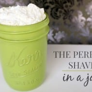 The Perfect Shave in a Jar