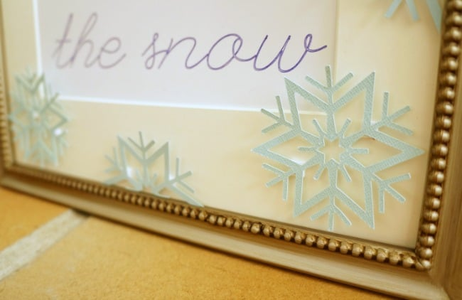 Create simple winter art for under $5