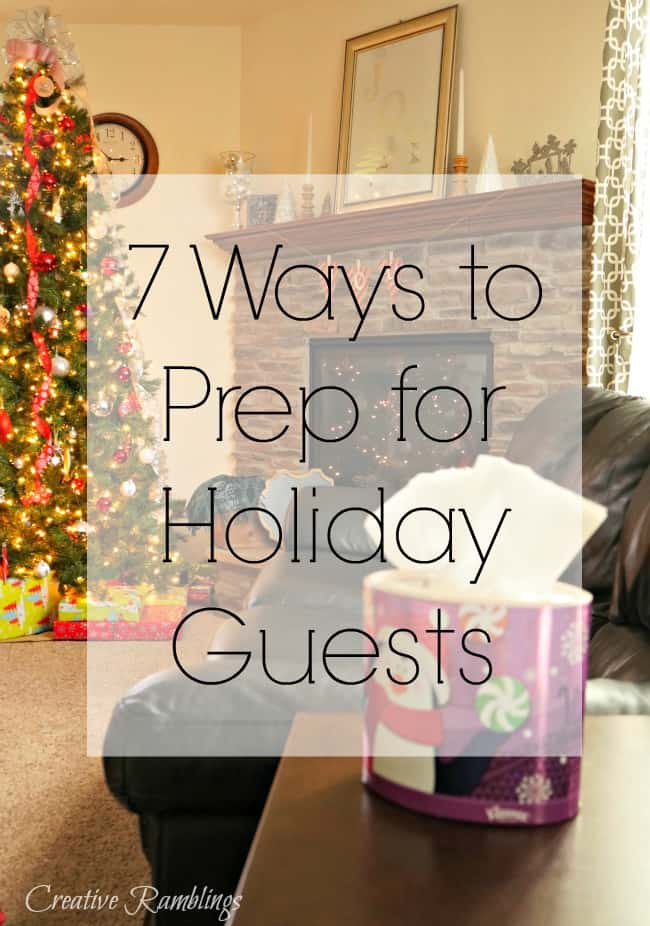 7 ways you can prep for holiday guests this season #HolidayNecessities