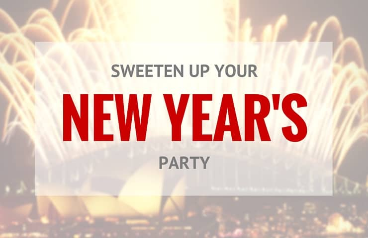 5 Ways to Sweeten Up Your New Year's Eve Party