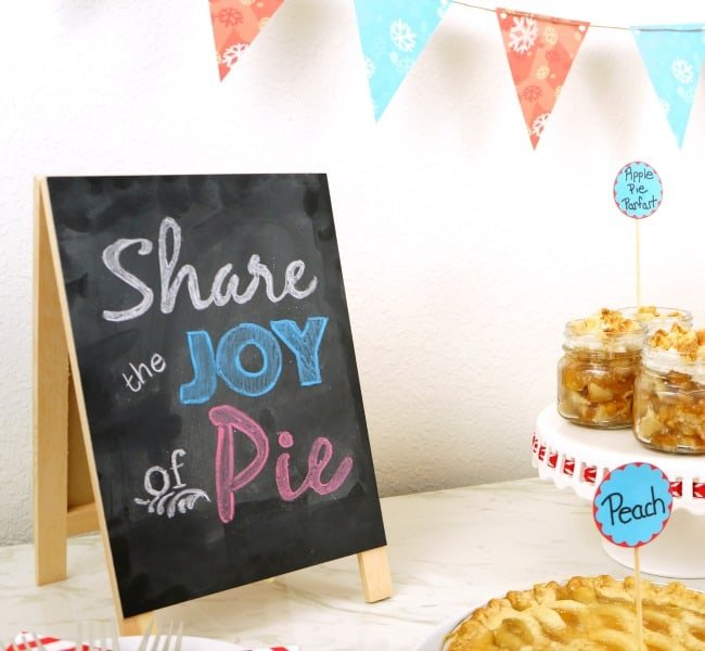 Simple and delicious holiday pie bar #ShareTheJoyOfPie AD