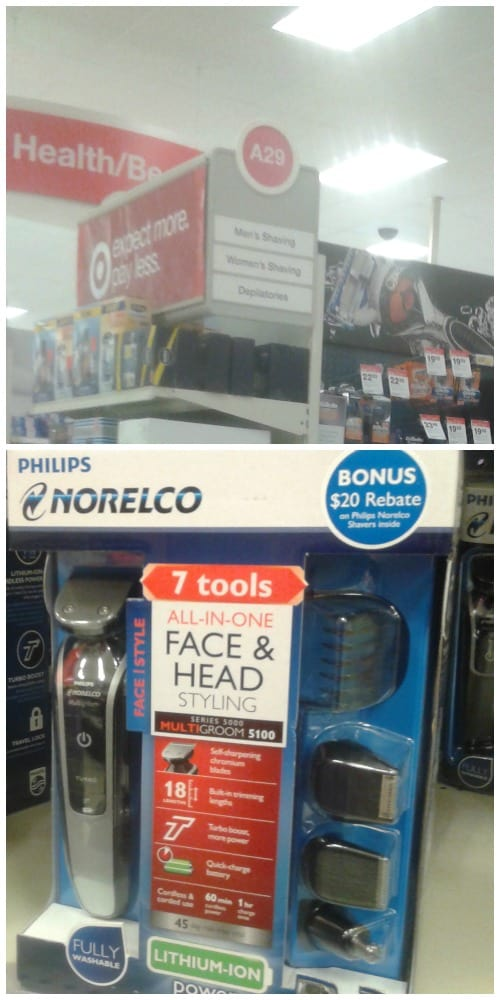 Norelco at Target #GiftofPhilips #Ad