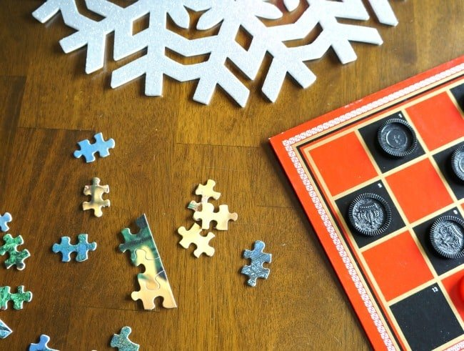 Have a few extra activities planned when guests come for the holidays
