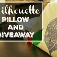 Merry and Bright Christmas Pillow + a Giveaway