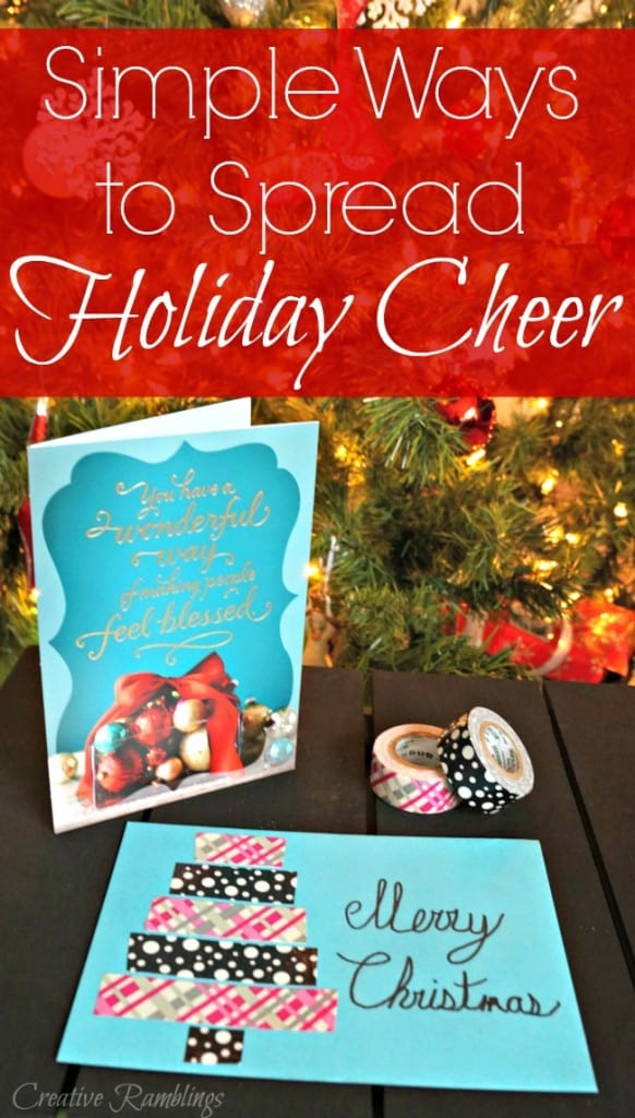 Spread holiday cheer with a card and personalized envelope. #SendHallmark ad