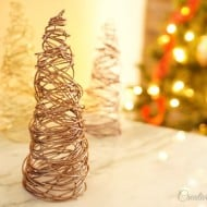Wire Cone Trees