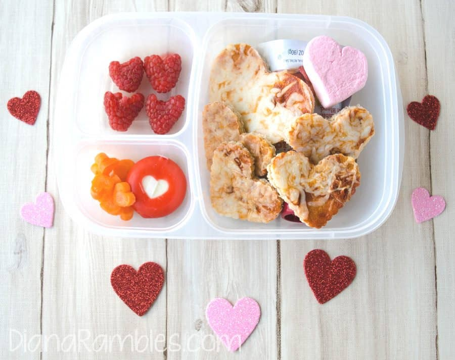 VAlentine's Day bento lunch