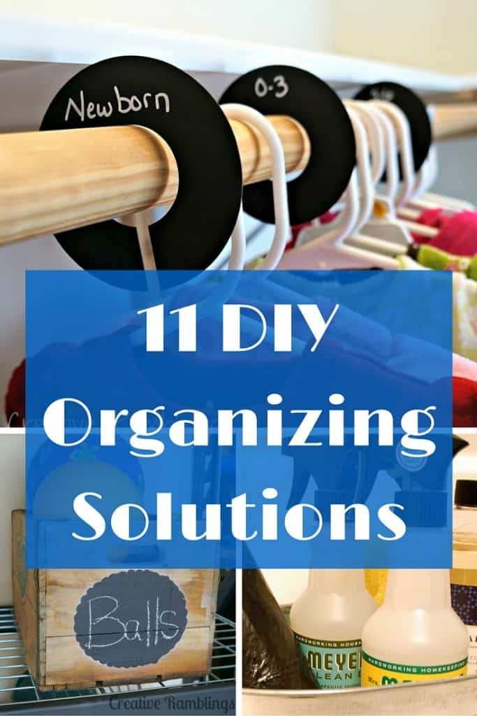11 DIY organizing solutions