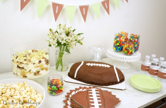 Sweet Super Bowl party spread AD #SweetenTheSpread
