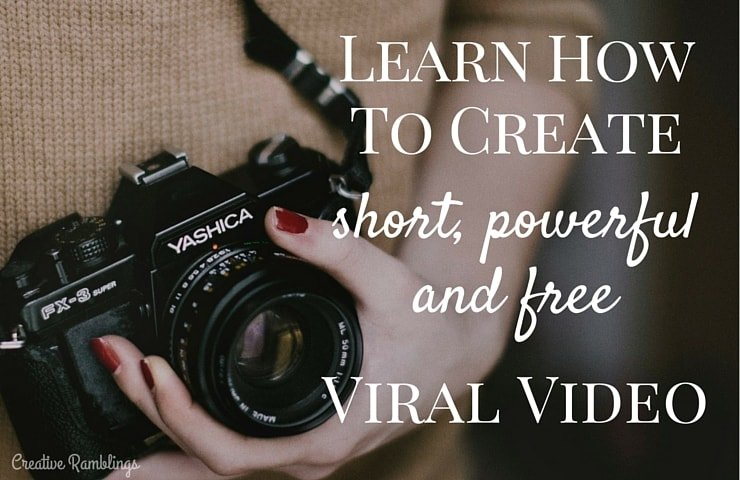 Learn how to create short powerful and free viral videos