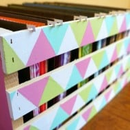 Pretty Crate Paper Storage