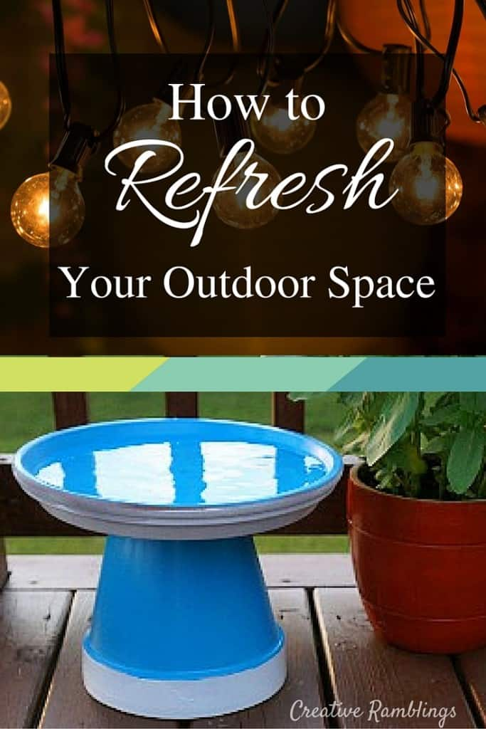 Simple and inexpensive ways to refresh your outdoor space