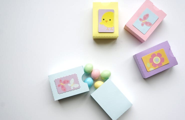 Paper Matchbox Easter Treat