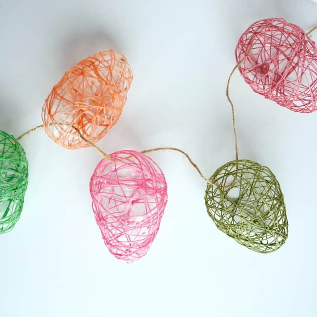 String Easter Egg Garland