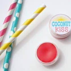 Homemade Tinted Lip Balm