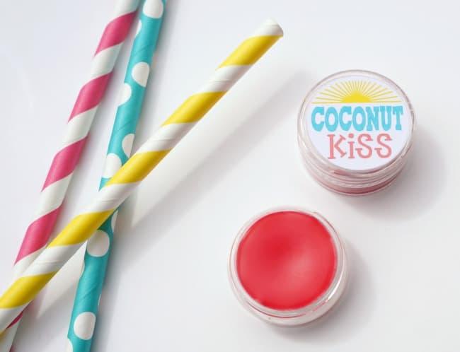 Homemade Tinted Lip Balm - Creative