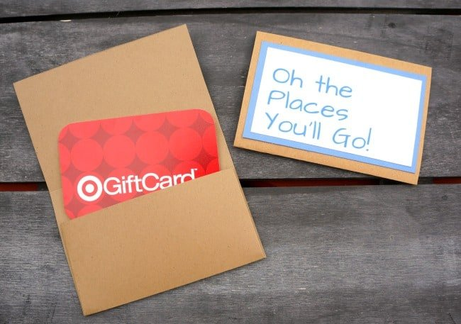 Dr. Seuss Inspired Gift Card Holders