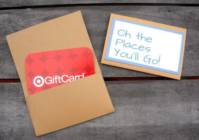 Dr. Seuss Inspired Gift Card Holders