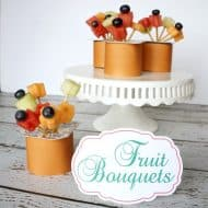 Snack Pack Summer Fruit Bouquets