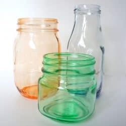 How to Tint Glass Mason Jars