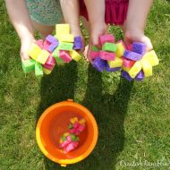 DIY Sponge Water Bombs and Simple Summer Treats