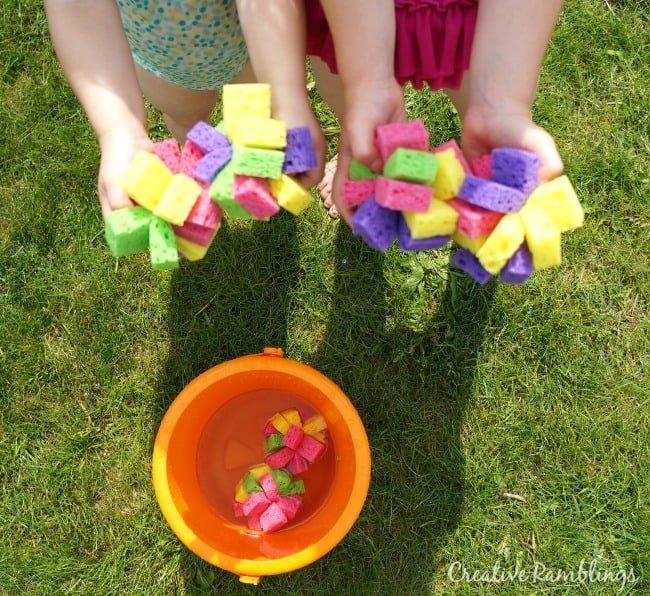 DIY Sponge Water Bombs and Simple Summer Treats