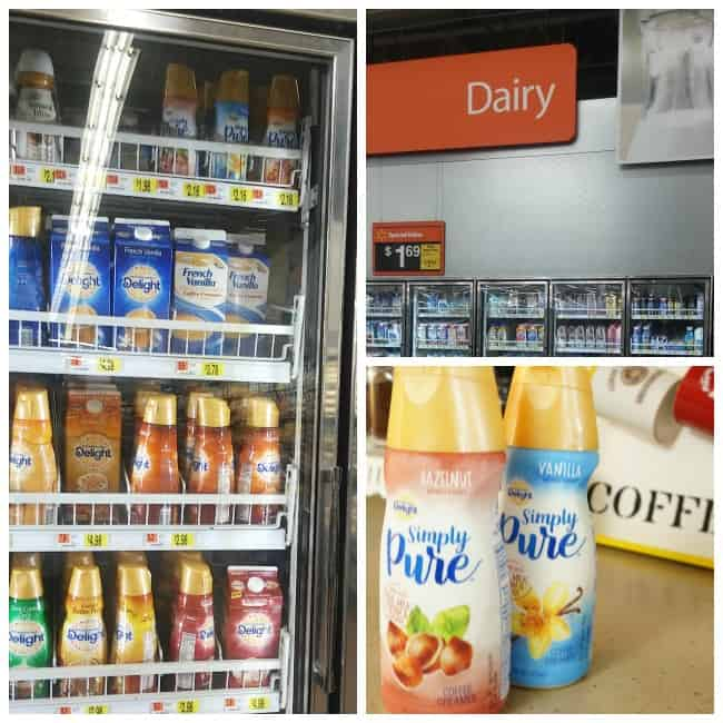 International Delight Simply Pure Coffee Creamer at Walmart #IDSimplyPure AD