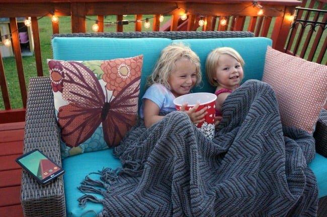 Kick off summer with family movie night #dataandamovie AD