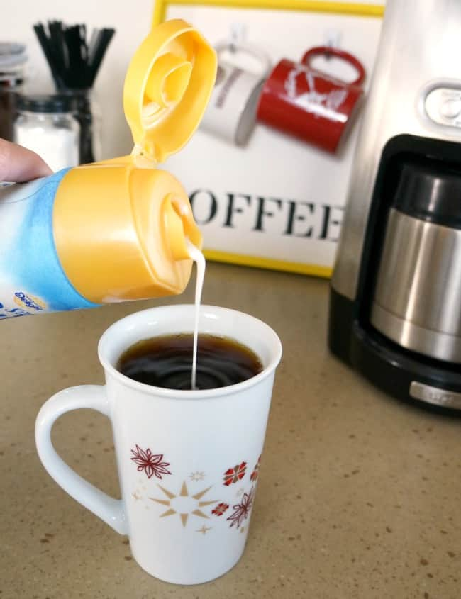 Simplify your morning routine with an easy to make coffee station #IDSimplyPure AD
