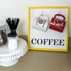 A Coffee Station to Simplify Your Mornings