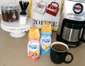 Simplify your morning with a DIY coffee station #IDSimplyPure AD