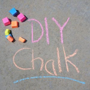 DIY Sidewalk Chalk and Summer Activities