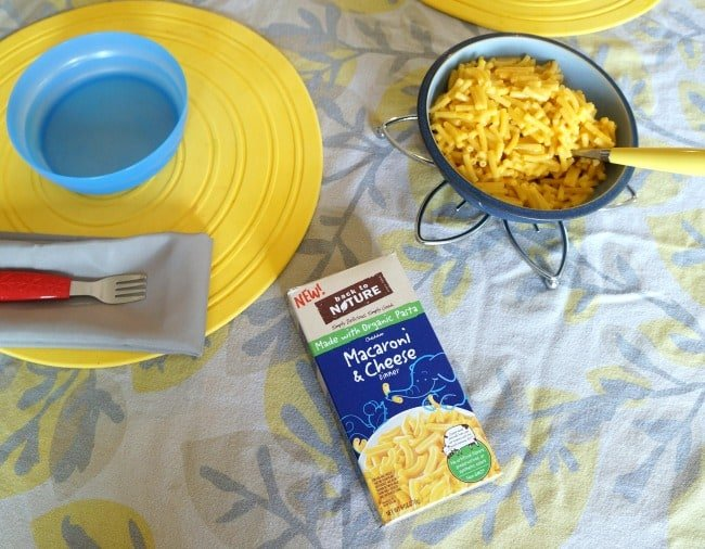 Mac & Cheese match game for an easy summer lunch #BackToPlay AD