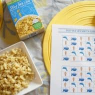 Mac & Cheese Matching Game for Easy Summer Lunchtime Fun