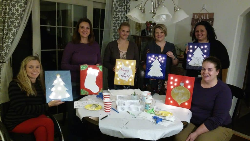 Craft at home party
