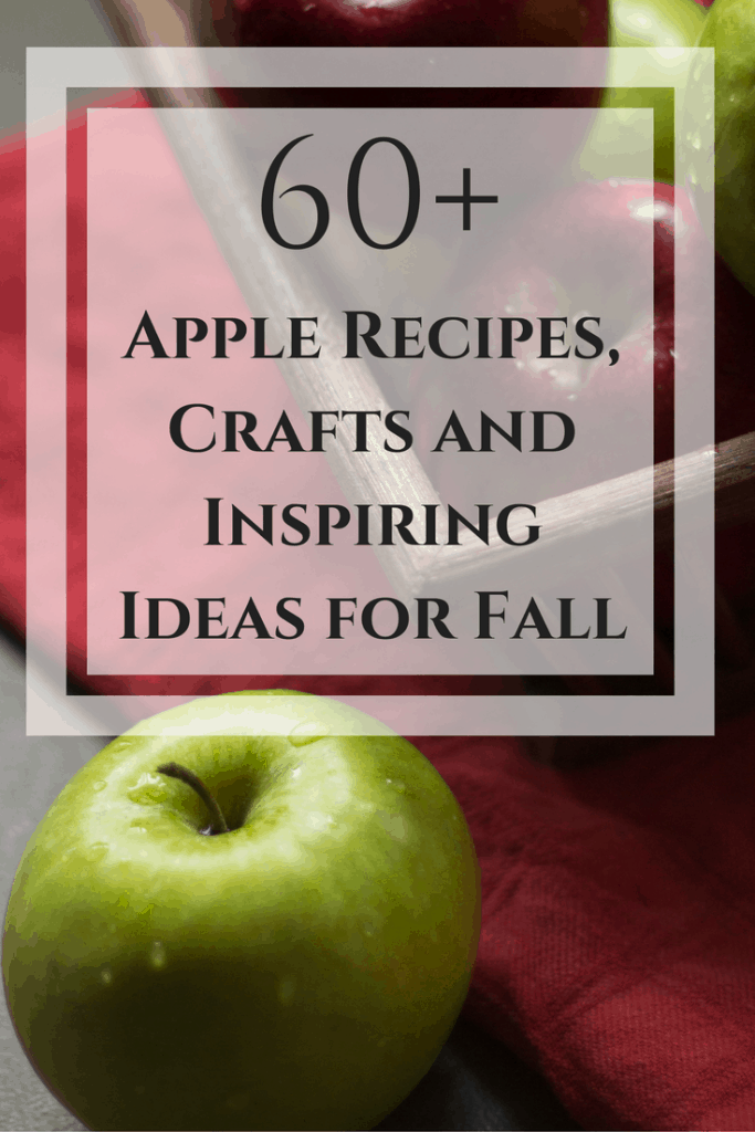 Apple recipes crafts and inspiring ideas #SoFabSeasons