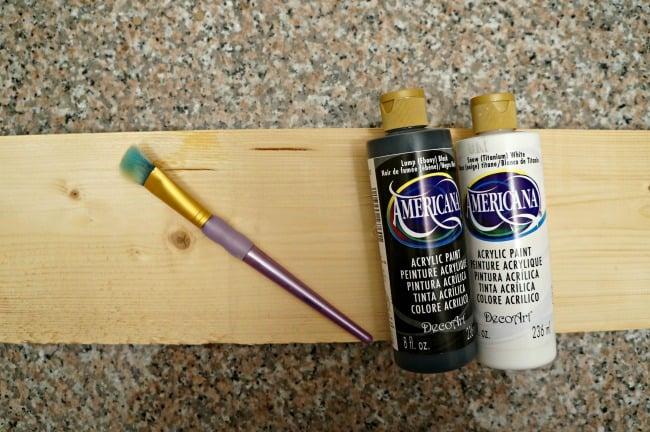 fall apple sign paint supplies