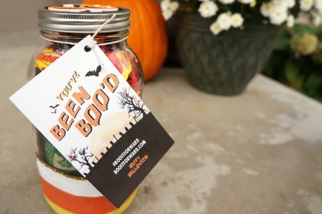 Halloween Mason Jar BOO Kit